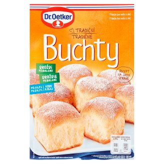 Dr. Oetker Traditional Buns 507g