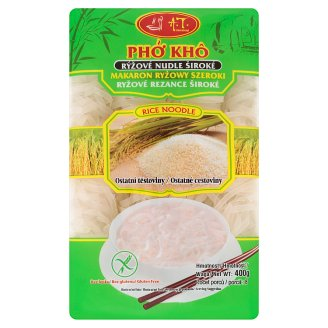 A.T. International Wide Rice Noodles 400g