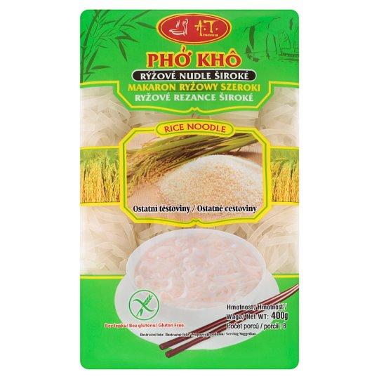 A.T. International Rýžové nudle široké 400g