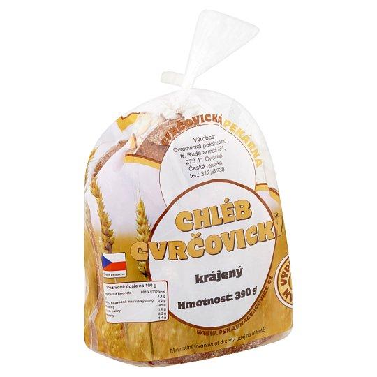 Cvrčovická pekárna Chléb cvrčovický krájený 390g