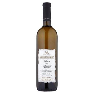 Vinselekt Michlovský Pálava víno s přívlastkem výběr z hroznů polosuché 0,75l