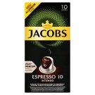 JACOBS Espresso Intenso Intz. 10 - 10 hliníkových kapslí kompatibilních s kávovary Nespresso® disc.