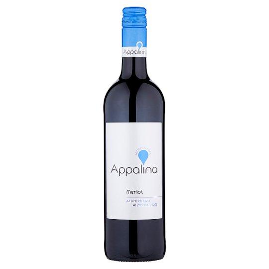 Appalina Merlot nealkoholické červené víno 0,75l