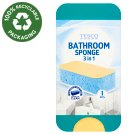 Tesco Bathroom Sponge 3 in 1 1 pcs