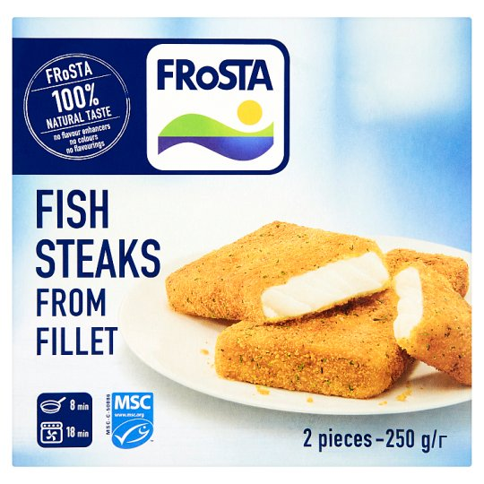 FRoSTA Fish Steaks from Fillet 250g