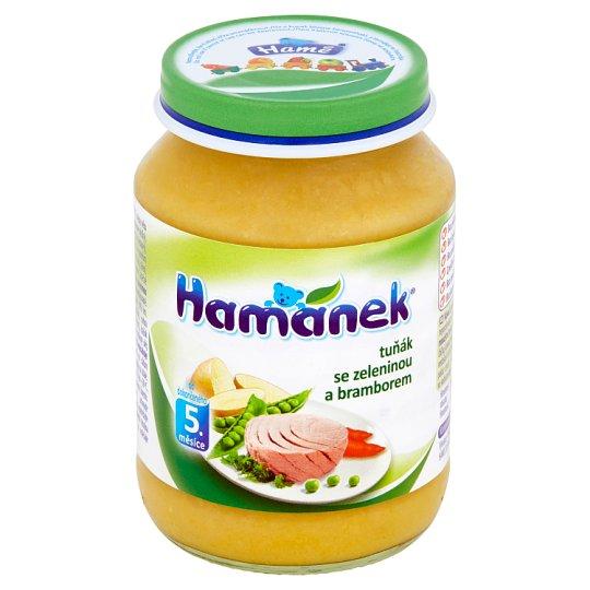 Hamánek Tuňák se zeleninou a bramborem 190g