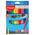 Maped Color'Peps Colored Pencils 18 pcs