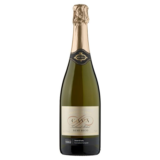 Tesco Cava Demi Sec Sparkling Wine 75cl