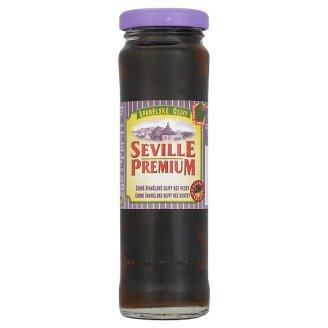 Seville Premium Černé španělské olivy bez pecky 142g