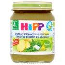 HiPP Bio brambory se špenátem a se smetanou 125g
