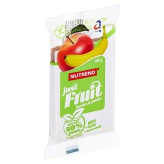 Nutrend Just Fruit Bar Banana Apple 30g