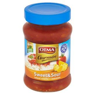 Otma Gurmán Sweet and Sour hotová omáčka s ananasem 350g