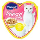 Vitakraft Poésie Sauce + Chicken and Garden Vegetables in The Sauce 85g