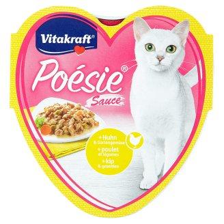 Vitakraft Poésie Sauce + kuře & zahradní zelenina v omáčce 85g