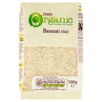 Tesco Bio rýže dlouhozrnná Basmati 500g