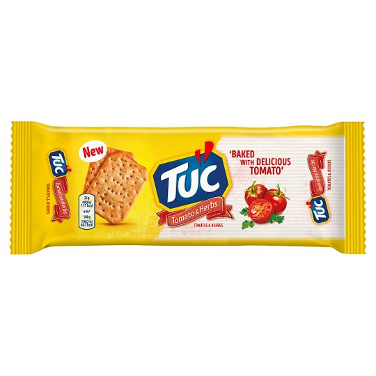 Tuc Tomato & Herbs Biscuits 105g