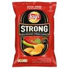 Lay's Strong Smažené bramborové lupínky s příchutí chilli a limetky 70g