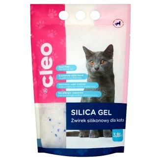 Cleo Hygienické stelivo pro kočky v podobě silikagelu 3,8l
