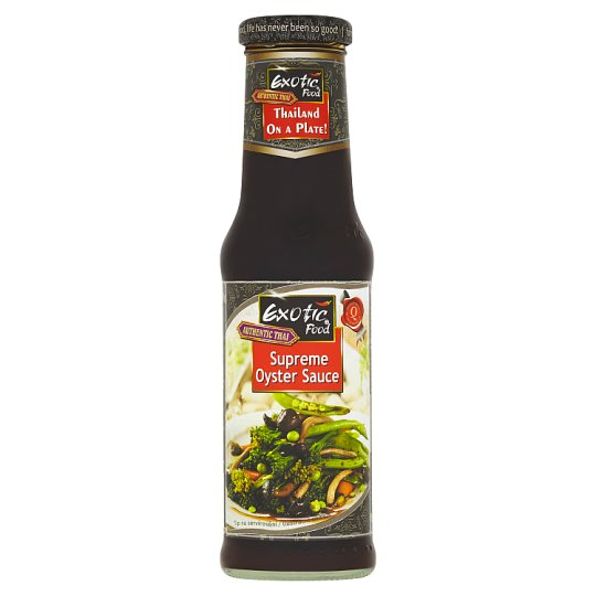 Exotic Food Authentic Thai Supreme Oyster Sauce ochucovadlo 250ml