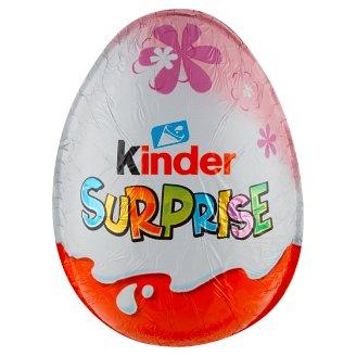 Kinder Surprise Sladké vajíčko s mléčnou čokoládou s překvapením 20g