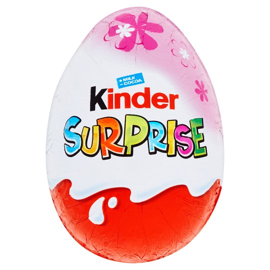 Kinder Surprise Sweet Egg with Milk Chocolate 20g