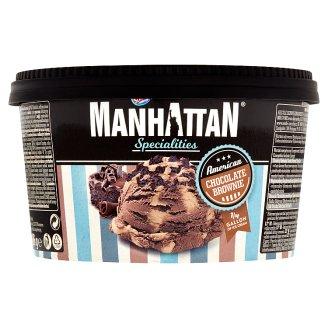 Manhattan Specialities Mražený krém čokoládový a mražený krém s kousky sušenek brownie 946ml
