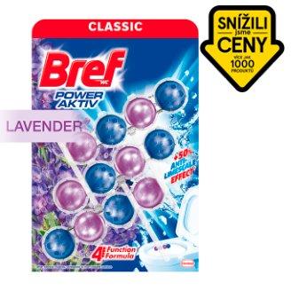 Bref Power Aktiv Fragrance Boost Lavender tuhý WC blok 3 x 50g