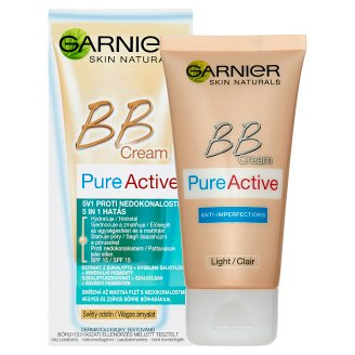 image 2 of Garnier Skin Naturals BB Cream Pure Active 5 in 1 Anti-Imperfections 50ml