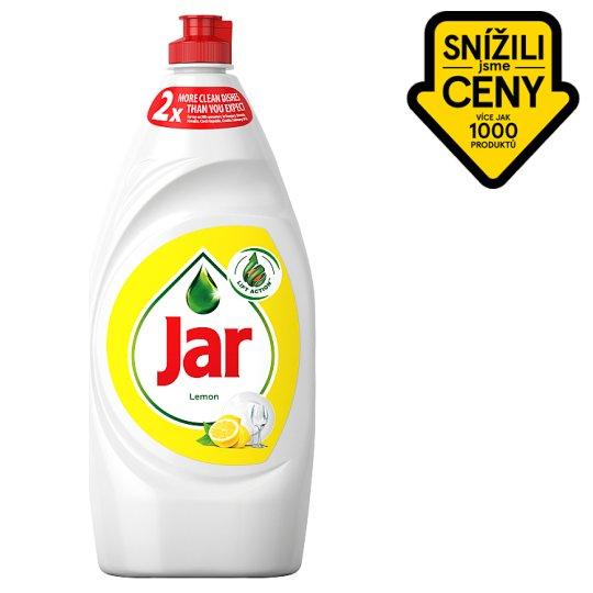 Jar Washing Up Liquid Lemon 900ml
