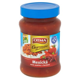 Otma Gurmán Mexická ostrá omáčka s fazolemi 350g