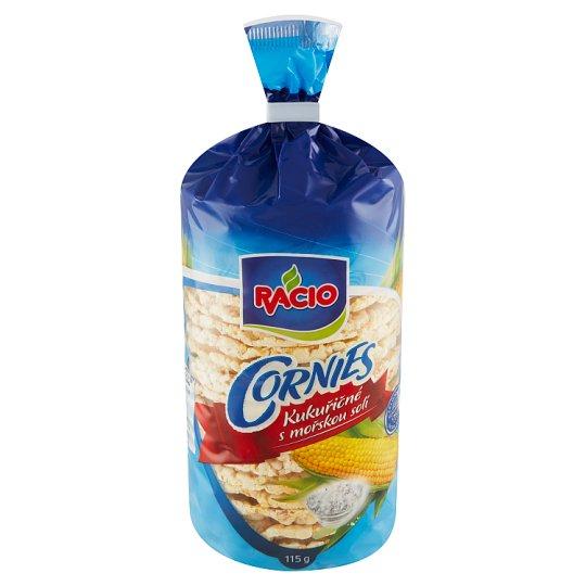 Racio Cornies Kukuřičné s mořskou solí 115g