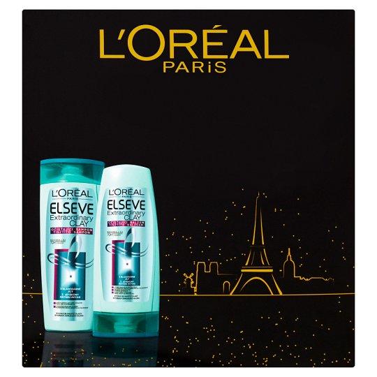 image 1 of L'Oréal Paris Elseve Extraordinary Clay Gift Set