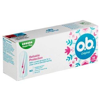O.B. Original Super Plus Tampons 16 pcs