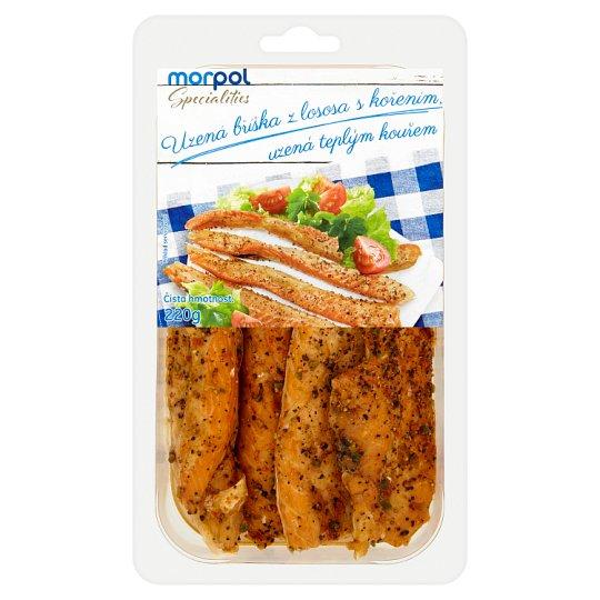 Smoked Salmon Beak with Spices 220g