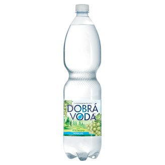 Dobrá voda Still Mineral Water with White Grapes Flavour 1.5L