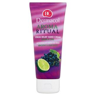 Dermacol Aroma Ritual Antistresový krém na ruce hrozny s limetkou 100ml