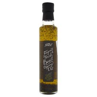Tesco Finest Zálivka s extra panenským olivovým olejem s bazalkou 250ml