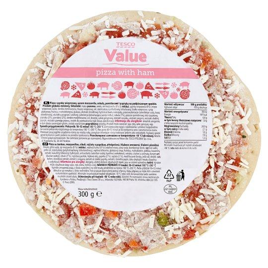 Tesco Value Pizza se šunkou 300g