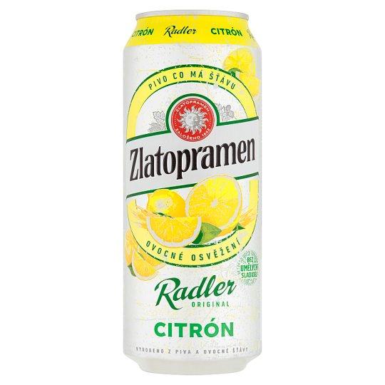 Zlatopramen Radler Lemon 0.5L