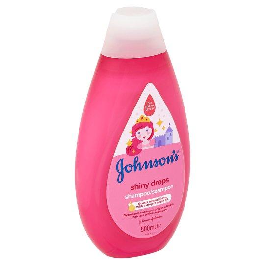 Johnson's Shiny Drops šampon 500ml