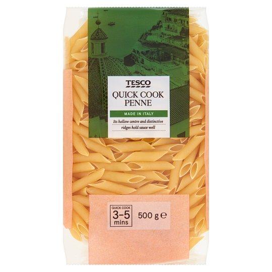 Tesco Italian Penne těstoviny semolinové sušené 500g
