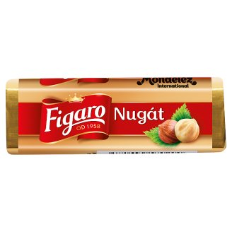 Figaro Nougat Milk Chocolate Filled Creamy Nougat 32g