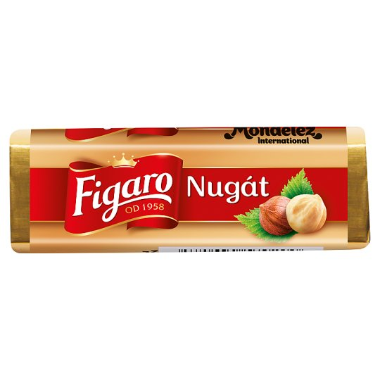 Figaro Nougat Milk Chocolate Filled Creamy Nougat 32g