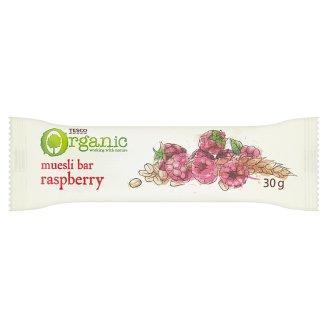 Tesco Organic Müsli tyčinka s malinami 30g