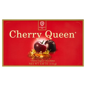 Cherry Queen Dark Chocolate Candies with Cherry in Alcohol 132g