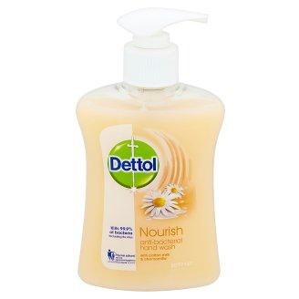 Dettol Zjemňující antibakteriální tekuté mýdlo s mlékem z bavlny a heřmánkem 250ml