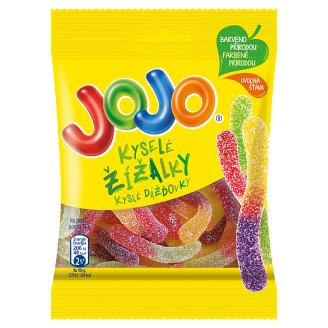 JOJO Sour Worms 80g