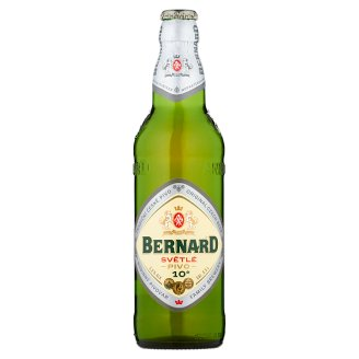 Bernard Světlé výčepní pivo 10 0,5l