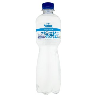 Tesco Value Pitná voda neperlivá 500ml