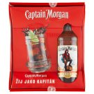 Captain Morgan Original Spiced Gold 700ml + korbel